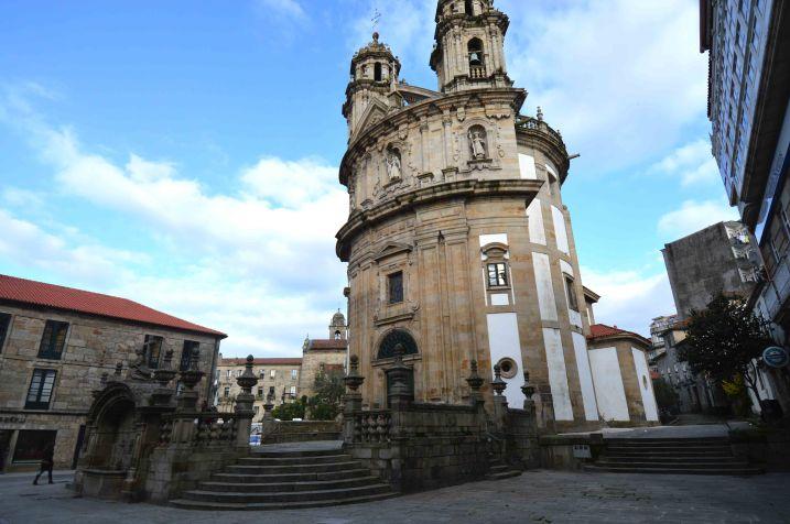 Pontevedra church